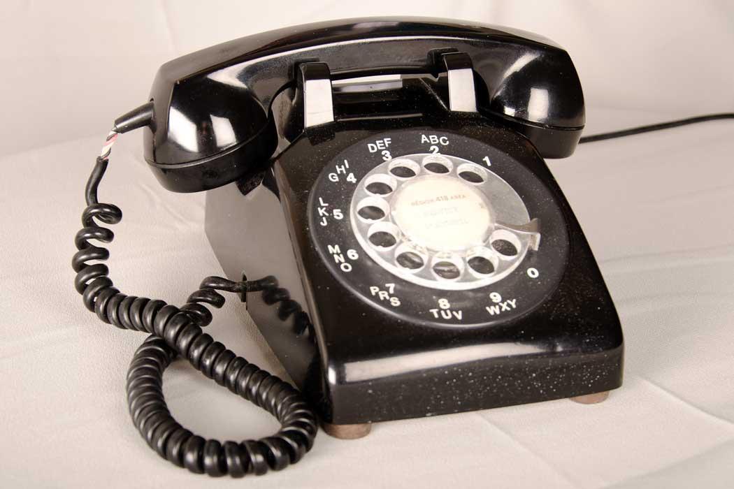 Telephone 1950 Rotary Telephone - 1950-1984