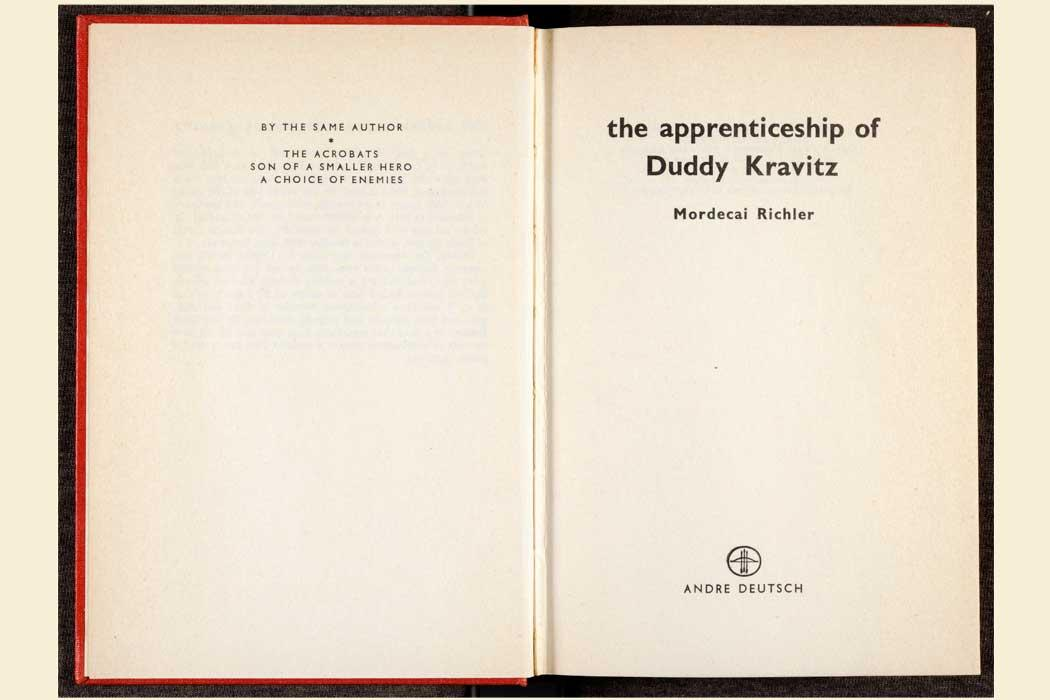 the whip in the apprenticeship of duddy kravitz The apprenticeship of duddy kravitz – mordecai richler – 1959 the following is a compilation of discussions and reviews from the previous version of our website.