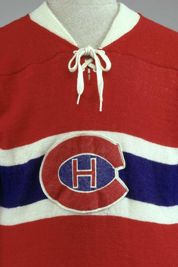 Montreal Canadiens Hockey Sweater and McGill University Hockey ...
